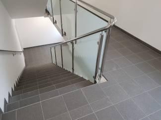 Treppengeländer gesamt aus einem Stück produziert