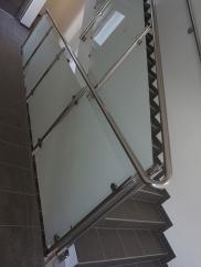Stiegengeländer - gesamt aus einem Stück geformt